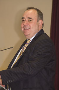 The Right Honourable Alex Salmond MSP